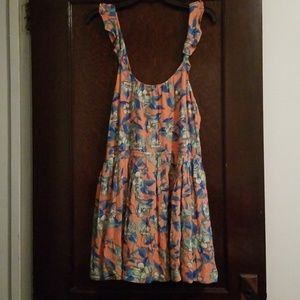 NWT Free People mini sleeveless floral dress